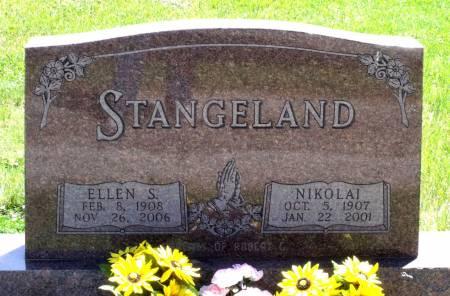 STANGELAND, ELLEN S. - Hamilton County, Iowa   ELLEN S. STANGELAND