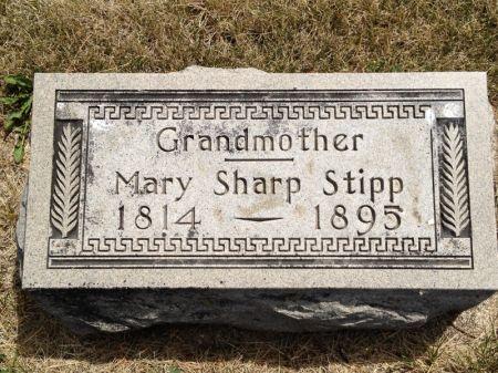 SHARP STIPP, MARY - Hamilton County, Iowa | MARY SHARP STIPP