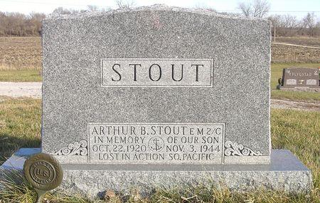 STOUT, ARTHUR B. - Hamilton County, Iowa | ARTHUR B. STOUT