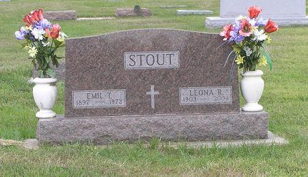 STOUT, EMIL T. - Hamilton County, Iowa   EMIL T. STOUT
