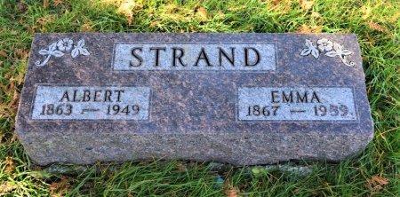 STRAND, ALBERT - Hamilton County, Iowa | ALBERT STRAND