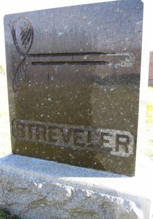 STREVELER, FAMILY STONE - Hamilton County, Iowa   FAMILY STONE STREVELER