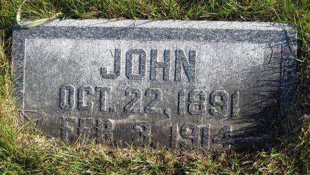 STREVELER, JOHN - Hamilton County, Iowa | JOHN STREVELER