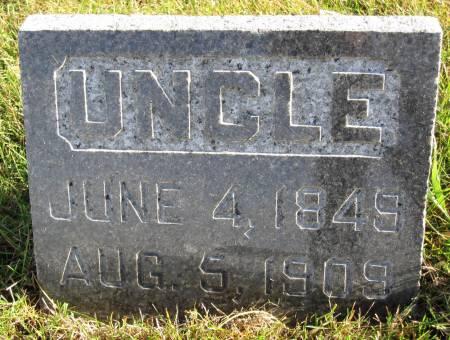 STREVELER, UNCLE - Hamilton County, Iowa   UNCLE STREVELER