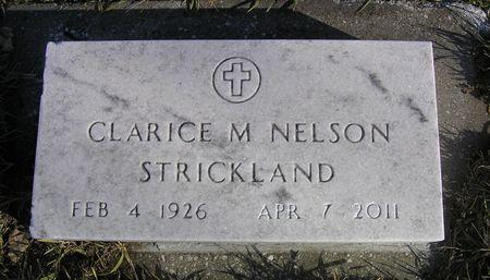 NELSON STRICKLAND, CLARICE M. - Hamilton County, Iowa | CLARICE M. NELSON STRICKLAND