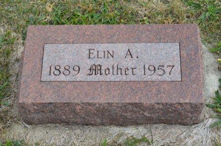 STROMERT, ELIN A. - Hamilton County, Iowa   ELIN A. STROMERT