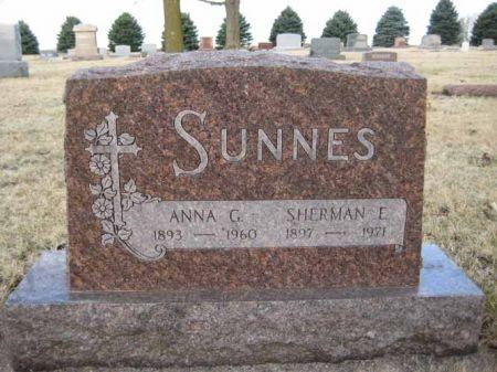 SUNNES, ANNA - Hamilton County, Iowa | ANNA SUNNES