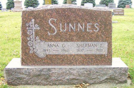 SUNNES, SHERMAN E. - Hamilton County, Iowa | SHERMAN E. SUNNES