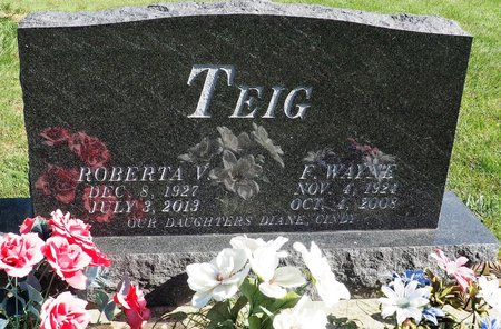 WHALEN TEIG, ROBERTA V. - Hamilton County, Iowa | ROBERTA V. WHALEN TEIG