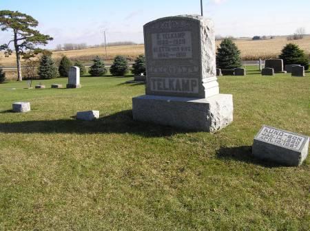 TELKAMP, E. FAMILY PLOT - Hamilton County, Iowa   E. FAMILY PLOT TELKAMP