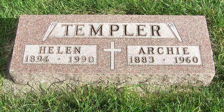 WINKIE TEMPLER, HELEN - Hamilton County, Iowa   HELEN WINKIE TEMPLER