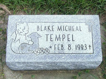 TEMPEL, BLAKE MICHEAL - Hamilton County, Iowa | BLAKE MICHEAL TEMPEL