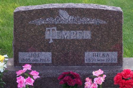 TEMPEL, HILKA - Hamilton County, Iowa | HILKA TEMPEL