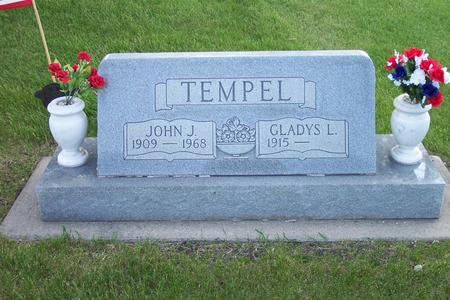 STOUT TEMPEL, GLADYS L. - Hamilton County, Iowa | GLADYS L. STOUT TEMPEL