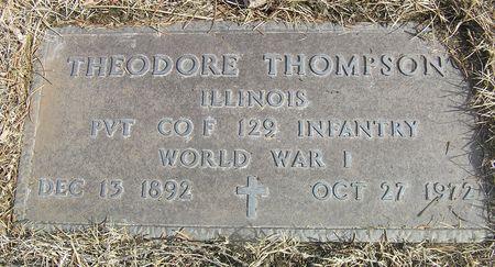 THOMPSON, THEODORE - Hamilton County, Iowa   THEODORE THOMPSON