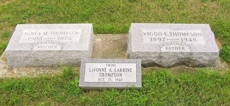 THOMPSON, LARRINE - Hamilton County, Iowa | LARRINE THOMPSON