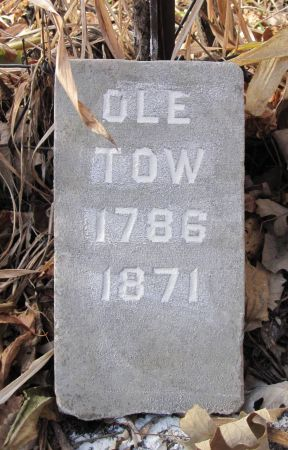 TOW, OLE - Hamilton County, Iowa   OLE TOW