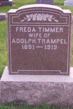 TIMMER TRAMPEL, FREDA - Hamilton County, Iowa | FREDA TIMMER TRAMPEL
