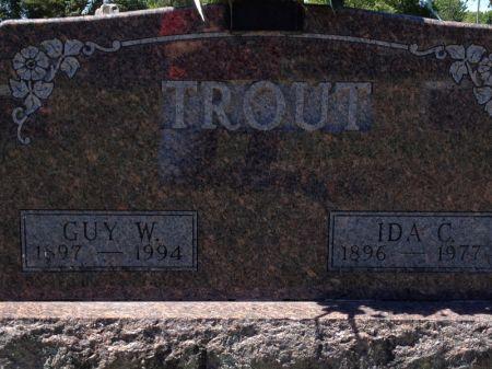 TROUT, IDA C. - Hamilton County, Iowa | IDA C. TROUT