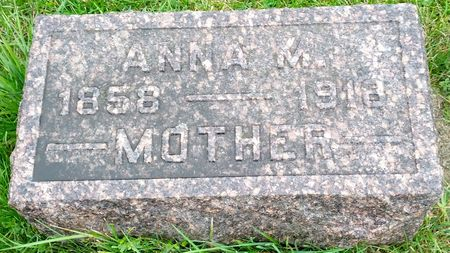 THORNSON TYLER, ANNA MALINDA - Hamilton County, Iowa | ANNA MALINDA THORNSON TYLER