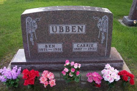 UBBEN, BEN - Hamilton County, Iowa | BEN UBBEN