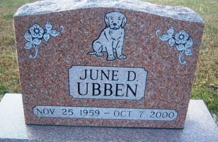 UBBEN, JUNE D. - Hamilton County, Iowa | JUNE D. UBBEN