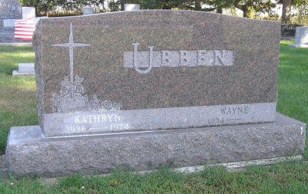 UBBEN, KATHRYN - Hamilton County, Iowa | KATHRYN UBBEN
