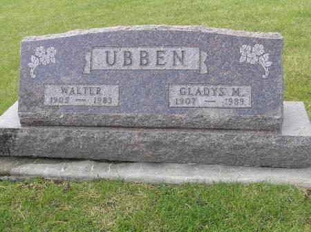 UBBEN, GLADYS M. - Hamilton County, Iowa | GLADYS M. UBBEN