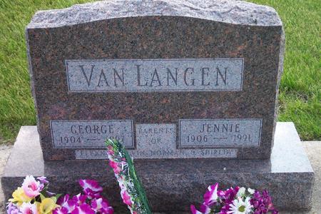 VAN LANGEN, GEORGE - Hamilton County, Iowa | GEORGE VAN LANGEN