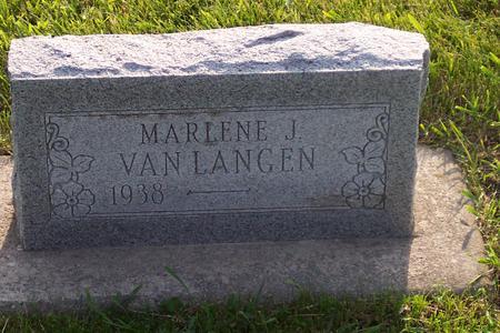 VAN LANGEN, MARLENE J. - Hamilton County, Iowa | MARLENE J. VAN LANGEN