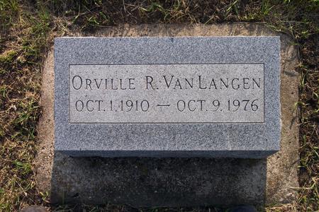 VAN LANGEN, ORVILLE R. - Hamilton County, Iowa   ORVILLE R. VAN LANGEN
