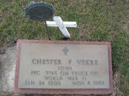 VEKRE, CHESTER F. - Hamilton County, Iowa   CHESTER F. VEKRE