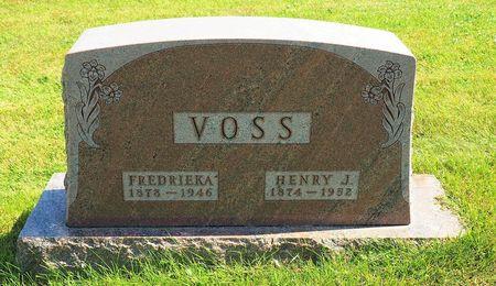 VOSS, HENRY J. - Hamilton County, Iowa   HENRY J. VOSS