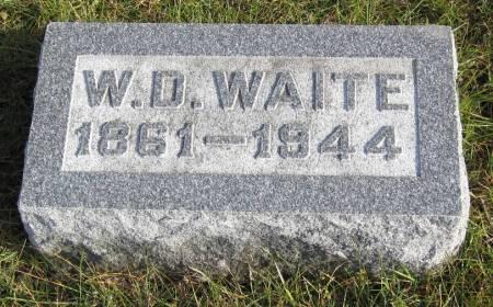 WAITE, W. D. - Hamilton County, Iowa | W. D. WAITE
