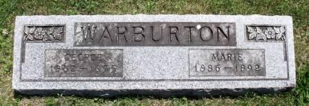 WARBURTON, GEORGE - Hamilton County, Iowa   GEORGE WARBURTON