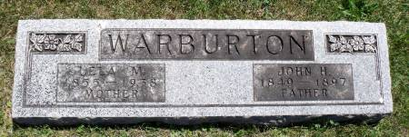 WARBURTON, LELA M. - Hamilton County, Iowa   LELA M. WARBURTON