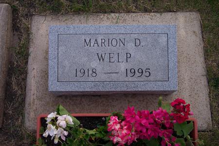 WELP, MARION D. - Hamilton County, Iowa | MARION D. WELP