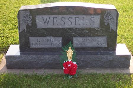 WESSELS, GEORGE - Hamilton County, Iowa | GEORGE WESSELS