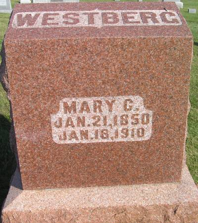 WESTBERG, MARY C. - Hamilton County, Iowa | MARY C. WESTBERG