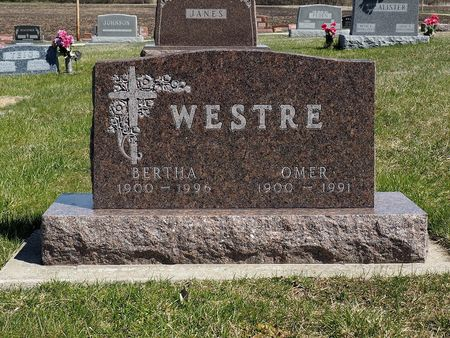 WESTRE, BERTHA - Hamilton County, Iowa | BERTHA WESTRE