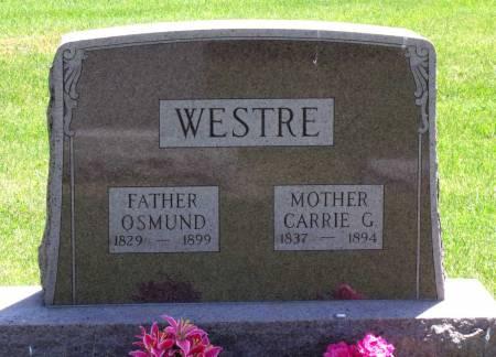 WESTRE, CARRIE G. - Hamilton County, Iowa | CARRIE G. WESTRE