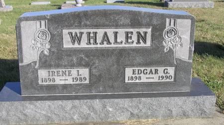 WHALEN, IRENE I. - Hamilton County, Iowa | IRENE I. WHALEN