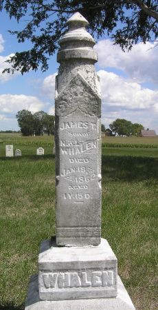 WHALEN, JAMES T. - Hamilton County, Iowa | JAMES T. WHALEN