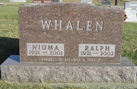 WHALEN, RALPH - Hamilton County, Iowa | RALPH WHALEN