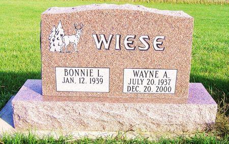 WIESE, WAYNE A. - Hamilton County, Iowa | WAYNE A. WIESE