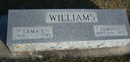 LONG WILLIAMS, ERMA ISABELLA - Hamilton County, Iowa   ERMA ISABELLA LONG WILLIAMS