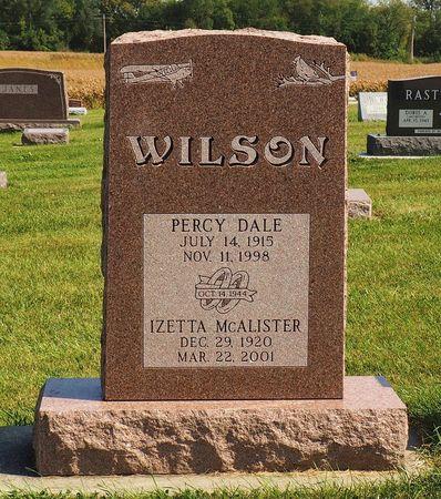 WILSON, PERCY DALE - Hamilton County, Iowa | PERCY DALE WILSON