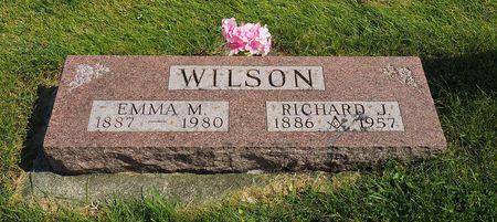 WILSON, RICHARD J. - Hamilton County, Iowa | RICHARD J. WILSON
