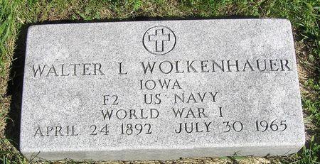WOLKENHAUER, WALTER L. - Hamilton County, Iowa   WALTER L. WOLKENHAUER