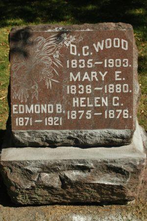 WOOD, MARY E. - Hamilton County, Iowa | MARY E. WOOD